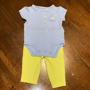 Baby shirt and pants set (NEW)